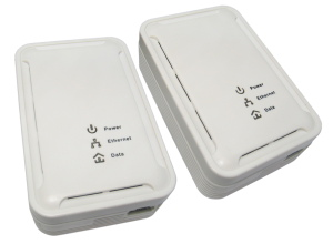 85Mbps Power Line Ethernet Adaptor Twin Pack