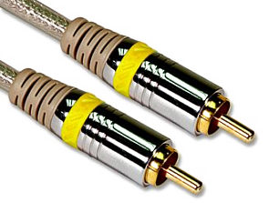 Philips 1.5m Digital Audio Coaxial Cable - Phono