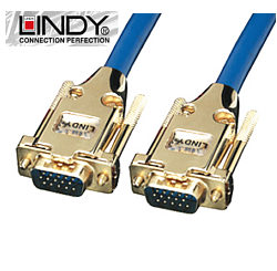 10m Premium Gold VGA / SVGA Cable - Lindy 37748