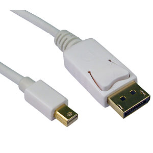 1m Mini Displayport to Displayport Cable
