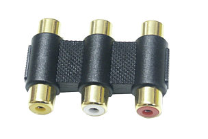 3x Phono Adapter - Phono Coupler