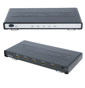 HDMI Splitter 4 Port HDMI 1.3 1080p 12 Bit Deep Colour
