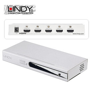 HDMI 1.3b Switch - 4 Way HDMI Switch 1080p by Lindy 38031