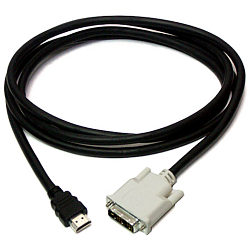 HDMI to DVI Cable 2m - Molex