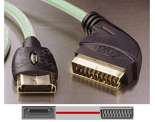 IXOS XPX01 - Xbox to Scart Cable - 2m
