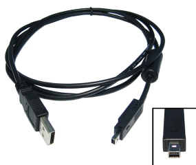 2M USB 1.1 Mini 4 Pin Data Cable