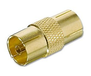 Philips Female - Female Aerial Adapter Coupler