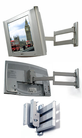 B-Tech BT7513 LCD Wall Mount with Articulated Arm - TV and Monitor
