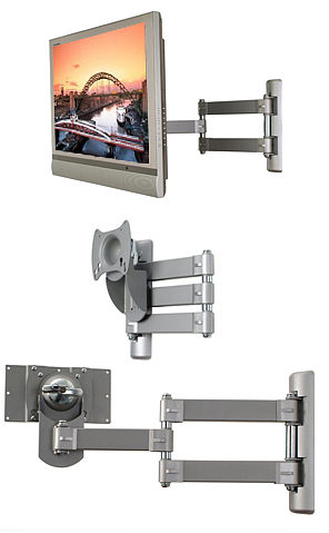 B-Tech BT7515 Articulated LCD Wall Mount - VESA 200 x 100