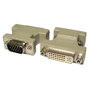 DVI to VGA Adapter DVI-I Female to VGA Male