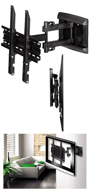 "Full Motion Tv Wall Mount 23"" - 46"""