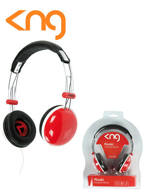 KNG Rooki Innocent Sinner Red Headphones KNG-5100