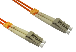 30m Fibre Optic Cable LC-LC orange 50/125