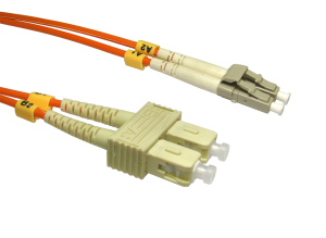 5m Fibre Optic Cable LC-SC orange 50/125