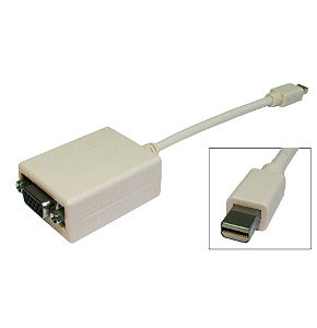 Mini Displayport to VGA Adapter Cable - Mac