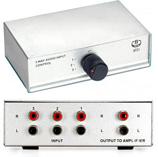 Phono Audio Switch - 3 Way