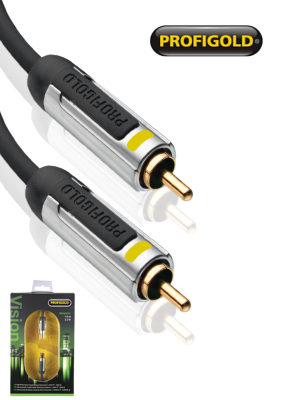 Profigold PROV5005 5.0m Composite Video Cable