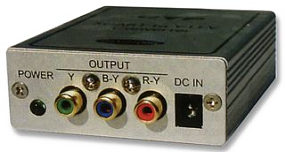 RGB to YUV Component Video Converter