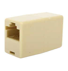 RJ45 Crossover Coupler - Network Cable Coupler