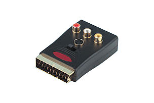 Scart Adapter with Breakout