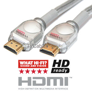 Techlink 2m Hdmi Cable - HDMI 1.4 Professional Grade for Sky HD Blu-Ray DVD etc