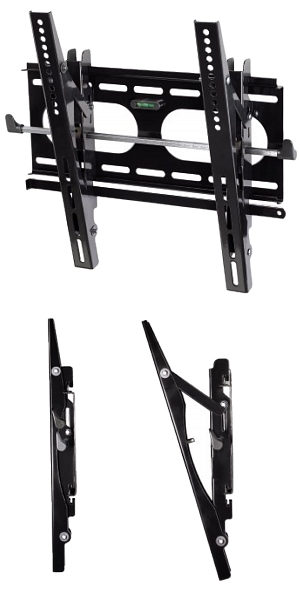 "Image of Ultra Slim Tilting TV Wall Bracket 23"" - 42"""