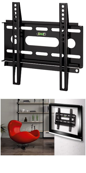 "Ultra Slim Tv Wall Mount Bracket 10"" - 37"""