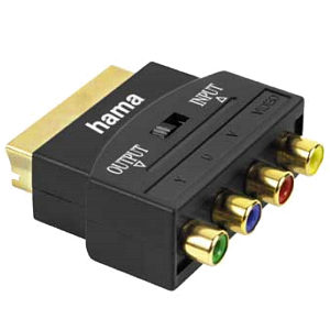 Component YUV RGB Scart Adapter