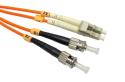 1m Fibre Optic Cable LC-ST orange 50/125