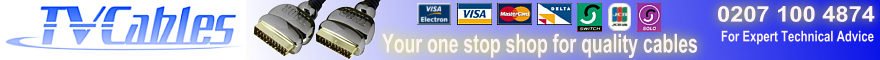 TV Cables for all your SCSI HDMI Cables, DVI Cables, Audio Cables, Video Cables & Speaker Cables