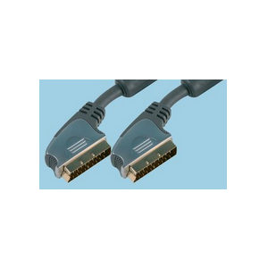 1m Scart Lead Cable with Side Entry