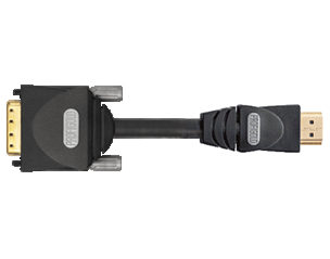 5m HDMI to DVI Cable Profigold PGV1105