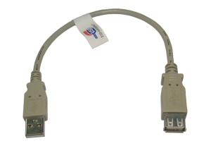 0.25m USB 2.0 Extension Cable Short 25cm
