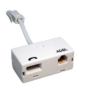 ADSL Microfilter Adapter with Lead
