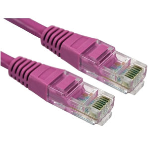 CAT5e Patch Cable UTP Full Copper, 2m, Pink