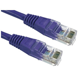 CAT5e Patch Cable UTP Full Copper, 2m, Violet