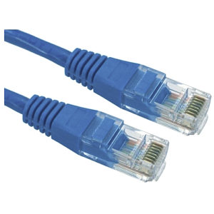 CAT5e Patch Cable UTP Full Copper, 3m, Blue