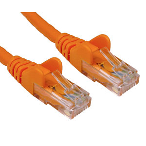 CAT5e Economy Network Cable, 1m, Orange