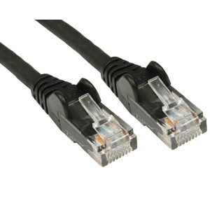 CAT5e Economy Network Cable, 25m, Black