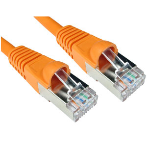 CAT6A Ethernet Cable 20m Orange