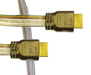 1m Flat High Speed HDMI Cable with Ethernet
