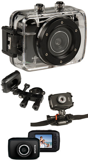 HD Action Helmet Bike Camera 720p