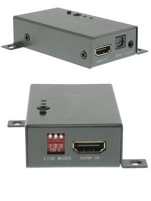 Image of HDMI Audio Extractor Optical and 3.5mm with Pass Through