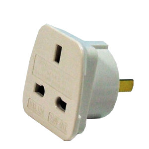 Intercontinental Travel Adapter  UK to Australasia and the Americas.