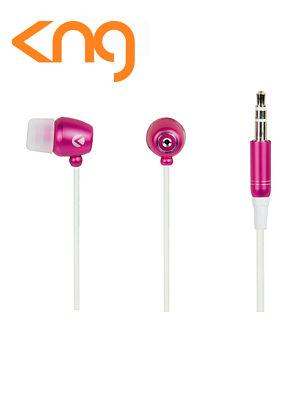 KNG Cyclone Pink Inner Tornado Earphones KNG-2150