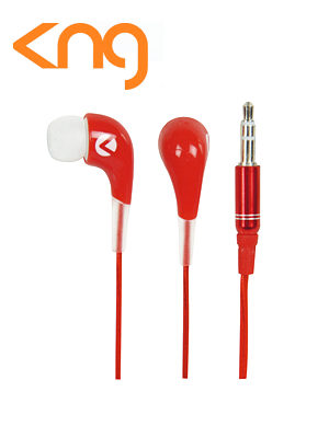 KNG Oozy Red Ear Fusion Earphones KNG-2030