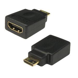 Mini HDMI Adapter HDMI Female to Mini HDMI Male