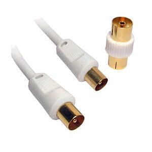 Nimbus 20m Long TV Aerial Cable White AE20W