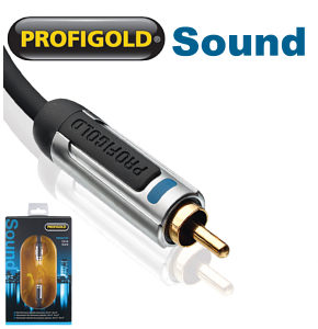 Profigold PROA4105 5m Dedicated Subwoofer Cable