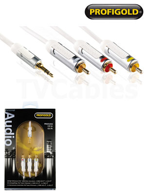 Profigold PROI5202 2m iPod Audio Video Cable